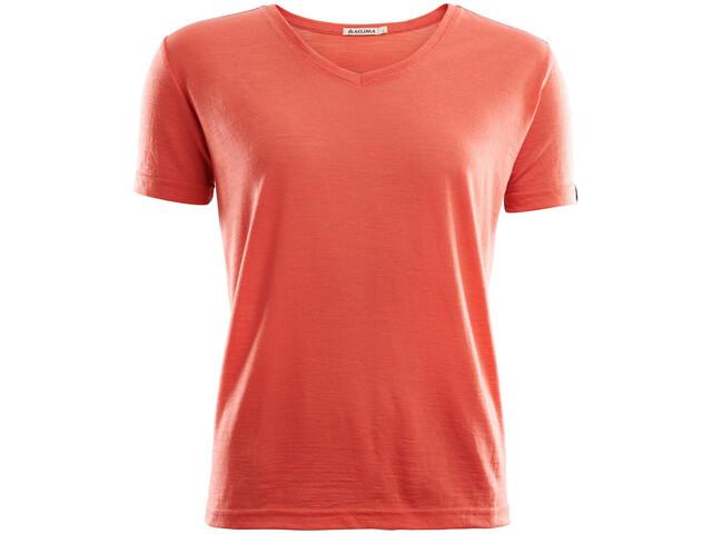 Aclima LightWool Loose Fit T-Shirt Damen burnt sienna